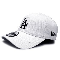 (ニューエラ) NEW ERA LOS ANGELES DODGERS 【9TWENTY WASHED COTTON CLOTH STRAPBACK/WHT】 ロサンゼルス ドジャース