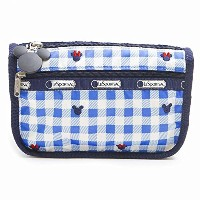 LeSportsac 7315-P930 TRAVEL COSMETIC ディズニー ポーチ CHECKS AND BOWS/ [並行輸入品]