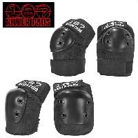 187 KILLER PADS スケートボード COMBO PACK KNEE ELBOW 二— エルボー プロテクター スケボー 膝 ヒザ 肘 ヒジ PROTECTOR SAFETY GEAR