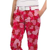 LoudMouth Ladies Sweethearts Capri Pants【ゴルフ レディース>パンツ】