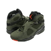 NIKE AIR JORDAN 8 RETRO 【TAKE FLIGHT】 ナイキ エア ジョーダン 8 レトロ SEQUOIA/BLACK/WOLF GREY/MAX ORANGE