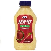 KRAFT - MAYO hot and spicy Flavored Mayonnaise - 12oz (354ml) クラフト フレーバーマヨネーズ ホット&スパイシー