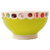 BLOCK BUTTON PUDDING BOWL Lime 2904