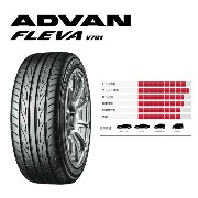 ヨコハマ ADVAN FLEVA V701 235/35R19 91W XL