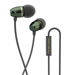 Fischer Audio カナル型イヤフォン TOTEM Paco Forest Green FA420358 [FA420358]