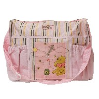 Disney Winnie the Pooh Diaper Bag (Pink) by Disney