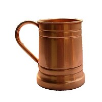 STREET CRAFT 100% Authentic Copper Moscow Mule Mug with, Copper Moscow Mule Mugs / Cups, Capacity...