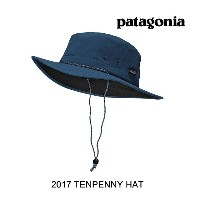 2017 PATAGONIA パタゴニア 帽子 ハット TENPENNY HAT GLSB GLASS BLUE