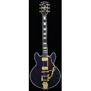 Gibson CUSTOM SHOP Limited Custom Collection CS-356 Quilt Top with Bigsby/Translucent Blue ...