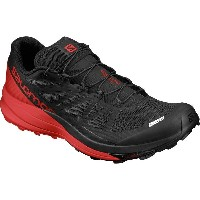 サロモン Salomon メンズ ランニング シューズ・靴【S-Lab Sense Ultra Trail Running Shoe】Black/Racing Red/White