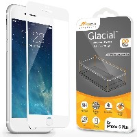 iPhone 6 Plus Screen Protector, roocase Full Screen Tempered Glass Protector Cover [Full Coverage...