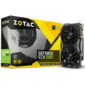 ZT-P10800H-10P【税込】 ZOTAC PCI-Express 3.0 x16対応 グラフィックスボードZOTAC Geforce GTX 1080 Mini 8GB [ZTP10800H1...