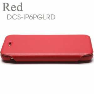 Deff Genuine Leather Case for iPhone6 Plus Red DCS-IP6PGLRD【納期目安:1週間】