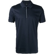 Boss Hugo Boss zipped polo shirt