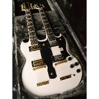 【純正ハードケース付属】【完全限定モデル】【送料無料】Epiphone by Gibson / Limited Edition G-1275 Double Neck -Alpine White...