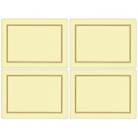 Pimpernel Classic Cream Placemats - Set of 4 by Pimpernel
