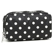 レスポートサック ポーチ LESPORTSAC 6511 D786 SUNSHINE DOT BLACK