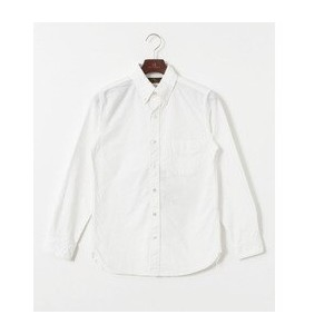 UR FREEMANS SPORTING CLUB JP PERUVIAN OXFORD BD SHIRTS【アーバンリサーチ/URBAN RESEARCH メンズ シャツ・ブラウス WHITE...