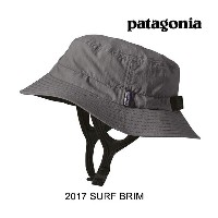 2017 PATAGONIA パタゴニア 帽子 ハット SURF BRIM HAT FGE FORGE GREY