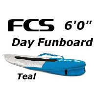 """FCS 3DxFit Day Funboard Cover 6'0"""" エフシーエス ショートボード フィッシュ レトロ ハードケース"""