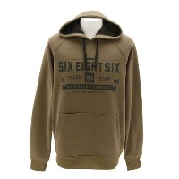 686 KNOCKOUT PULLOVER L6W127 OLIVE メンズ スノーボードウエア パーカー (Men's)