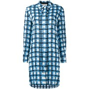Diane Von Furstenberg checked dress