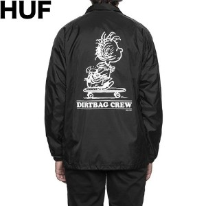 HUF X Peanuts Pigpen Coaches Jacket Black XL コーチジャケット 並行輸入品