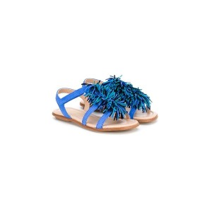Aquazzura Mini - Wild サンダル - kids - レザー/スエード/rubber - 29