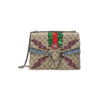 Gucci - Dionysus GG Blooms ショルダーバッグ - women - Canvas/metal - ワンサイズ