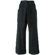 Brunello Cucinelli wide leg cropped pants