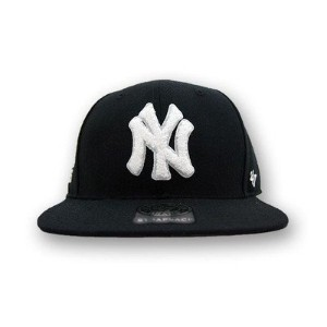 (47ブランド) 47Brand CAP NEWYORK YANKEES BLACK×RED [並行輸入品]