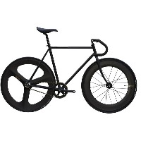 ピストバイク 完成車 CARTELBIKES AVENUE MAT BLACK FRONT 88mm REAR 3SPOKE CARBON WHEEL CUSTOM カーテルバイクス アベニュー...