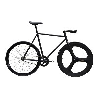 ピストバイク 完成車 CARTELBIKES AVENUE LO MAT BLACK DINER FRONT 3SPOKE CARBON WHEEL CUSTOM カーテルバイクス アベニュー ロー...