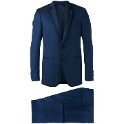 Lardini piping contrast two-piece suit
