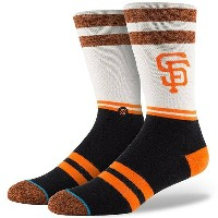 スタンス Stance インナー ソックス【Stance x MLB Men San Francisco Giants Socks 】