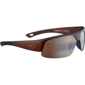 マウイジム Maui Jim メンズ アクセサリー サングラス【Switchbacks Interchangeable Sunglasses】Matte Rootbeer/HCL Bronze...