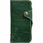 NATURALdesign iPhone6s/6専用本革ケース SMART LEATHER Green iP6SL03 iP6SL03