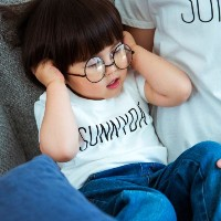 【THE SHOP TK(Kids) (ザ ショップ ティーケー(キッズ))】SUNNY DAY Tシャツキッズ トップス|カットソー・Tシャツ ピンク系