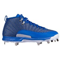 ジョーダン メンズ 野球 シューズ・靴【Jordan Retro XII Metal】Game Royal/Metallic Silver/White