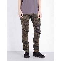 トゥルー レリジョン true religion メンズ ボトムス ジーンズ【rocco cargo moto regular-fit tapered jeans】Dmc camo