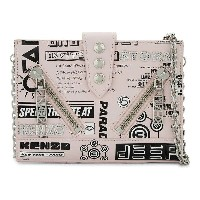 ケンゾー kenzo レディース アクセサリー 財布【kalifornia gommato leather wallet on chain】Pink
