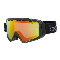 Bolle Z5 OTG Ski Goggles, Shiny Black/White by Bolle