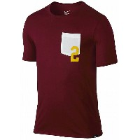 Nike Kyrie 2 Pocket T-Shirt メンズ Burgundy/Yellow/White ナイキ カイリー・アービング Tシャツ DRI-FIT