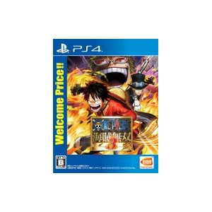 Game Soft (PlayStation 4) / 【PS4】ワンピース 海賊無双3 Welcome Price!! 【GAME】