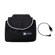 4moms Origami Handlebar Bag Plus Cell Phone Cable, Black by 4moms [並行輸入品]