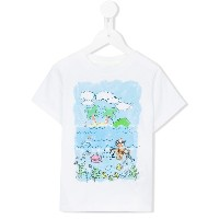 Stella Mccartney Kids Arlo Island print T-shirt