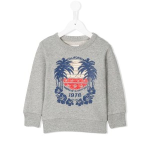 American Outfitters Kids - パームツリープリント スウェットシャツ - kids - コットン - 8歳