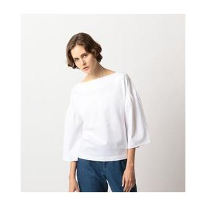 <Steven Alan>GATHER SLEEVE PULLOVER/カットソー【ビューティアンドユース ユナイテッドアローズ/BEAUTY&YOUTH UNITED ARROWS Tシャツ...