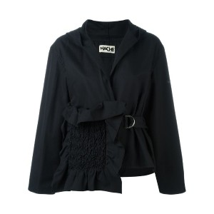 Hache - asymmetric jacket - women - コットン - 42