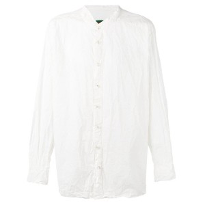 Casey Casey - mandarin neck shirt - men - コットン - M